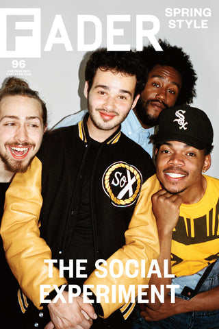 "The Social Experiment / The FADER Issue 96 Cover 20"" x 30"" Poster - The FADER  - 1"