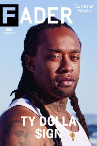 "Ty Dolla $ign / The FADER Issue 92 Cover 20"" x 30"" Poster - The FADER"