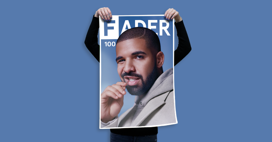 "Drake / The FADER Issue 100 Cover 20"" x 30"" Poster - The FADER  - 2"