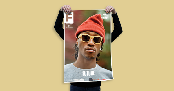 "Future / The FADER Issue 77 Cover 20"" x 30"" Poster - The FADER  - 2"