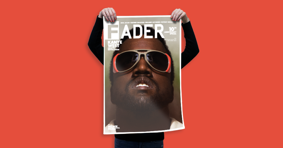 kanye west the fader issue 58 cover 20 x 30 poster