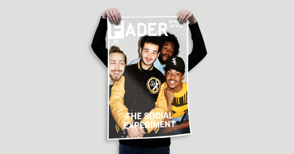 "The Social Experiment / The FADER Issue 96 Cover 20"" x 30"" Poster - The FADER  - 2"