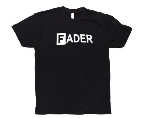 The FADER Tee (Black) - The FADER