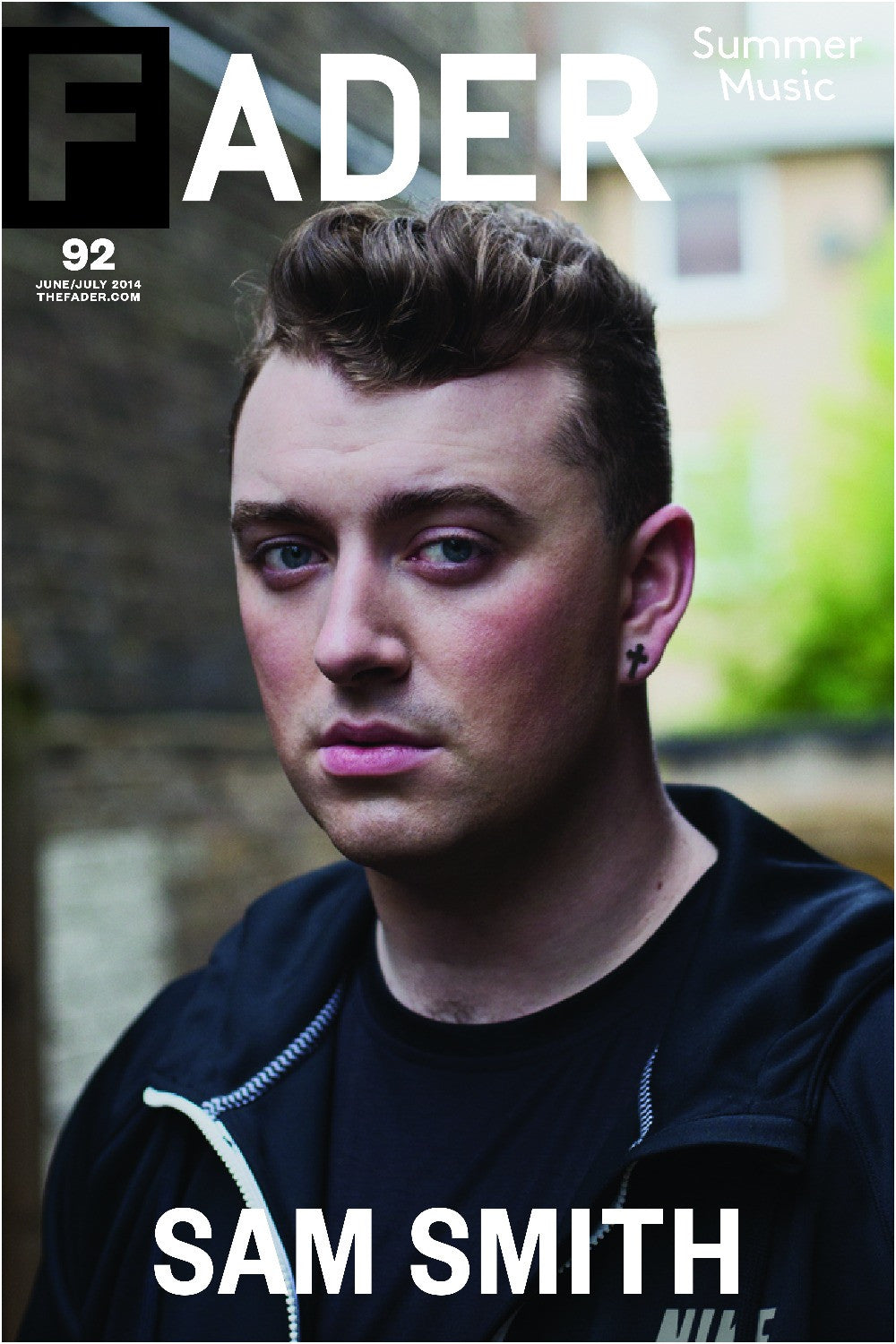 "Sam Smith / The FADER Issue 92 Cover 20"" x 30"" Poster - The FADER"