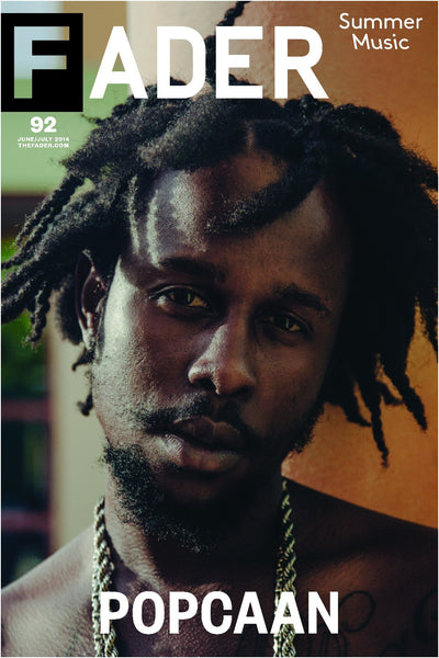 "Popcaan / The FADER Issue 92 Cover 20"" x 30"" Poster - The FADER"