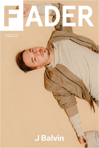 "J Balvin / The FADER Issue 102 Cover 20"" x 30"" Poster - The FADER"