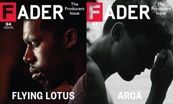 Issue 094: Flying Lotus / Arca - The FADER