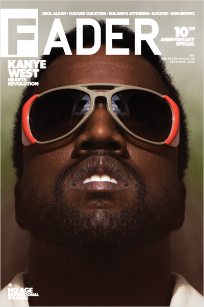 "Kanye West / The FADER Issue 58 Cover 20"" x 30"" Poster - The FADER  - 1"