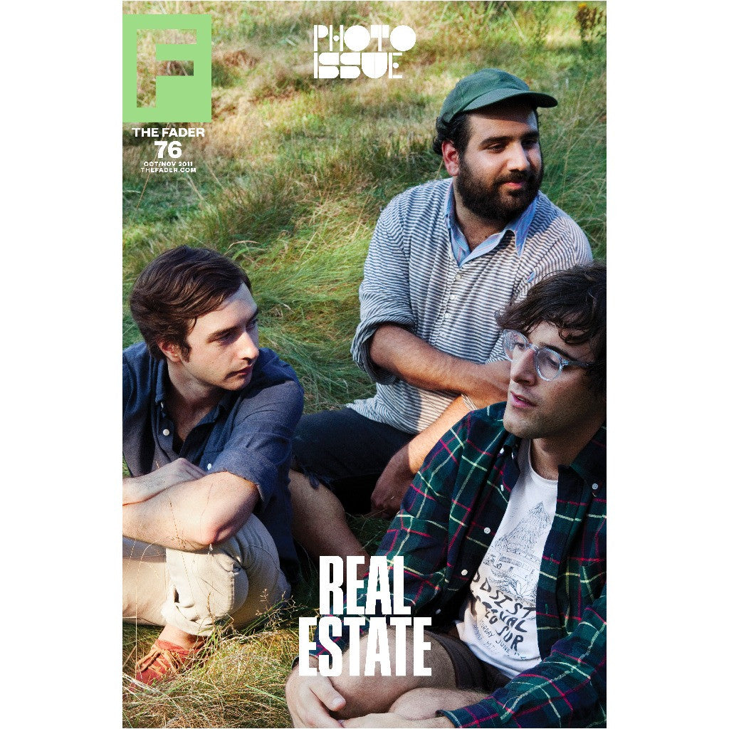 "Real Estate / The FADER Issue 76 Cover 20"" x 30"" Poster - The FADER"