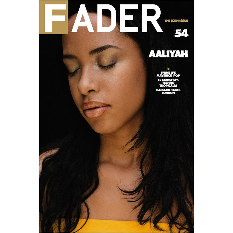 "Aaliyah / The FADER Issue 54 Back Cover 20"" x 30"" Poster"