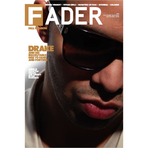 "Drake / The FADER Issue 63 Cover 20"" x 30"" Poster"