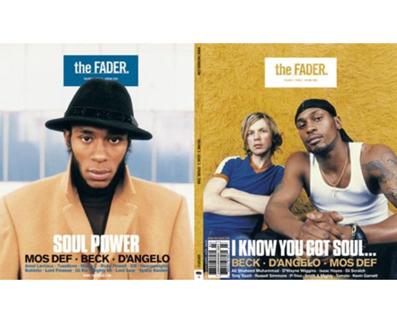 Issue 003: Beck / D'angelo / Mos Def - The FADER