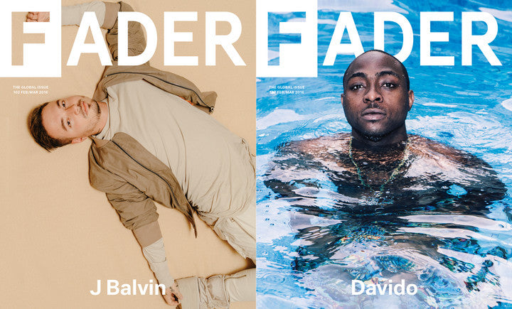 Issue 102: J Balvin / Davido - The FADER