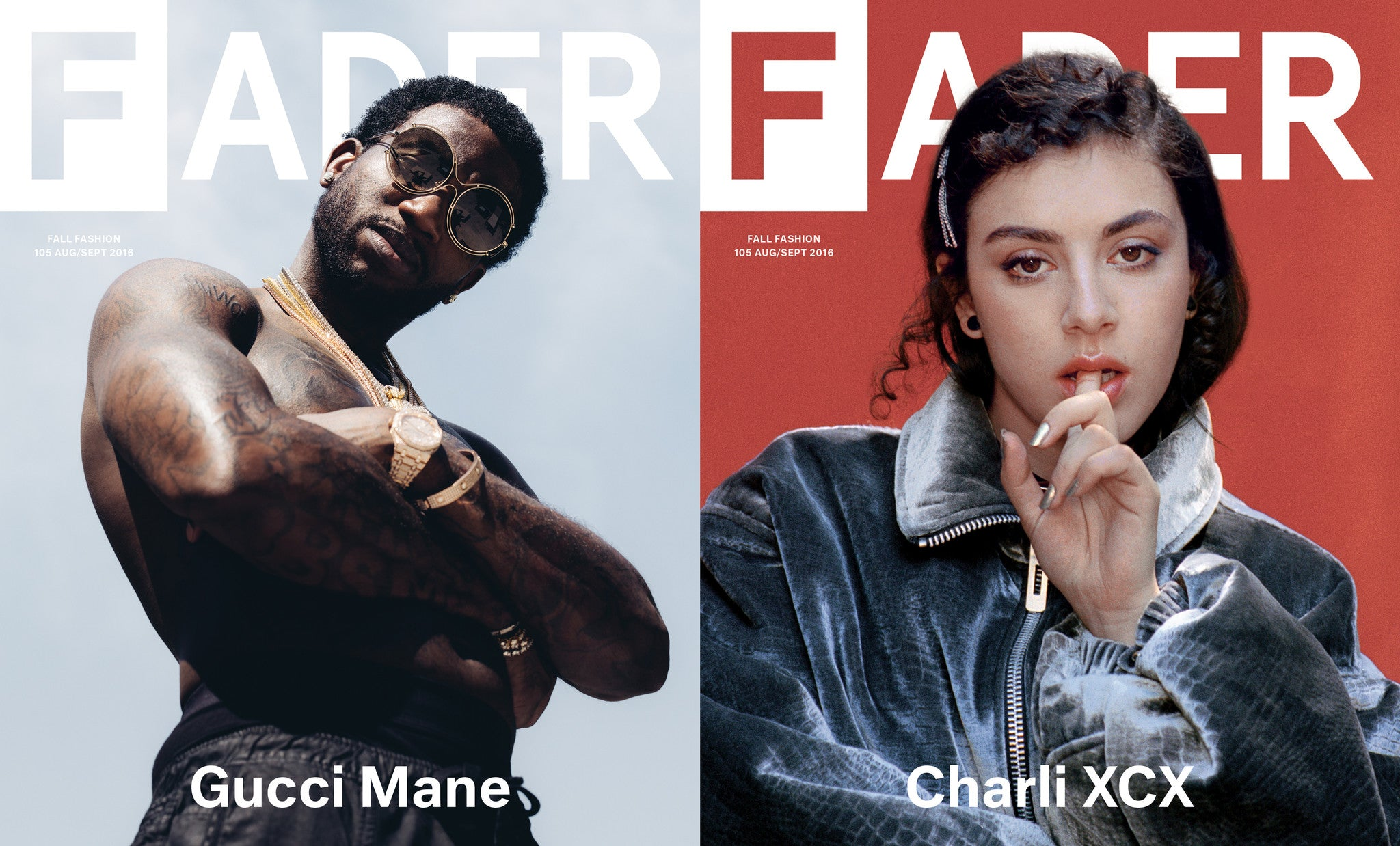 Issue 105: Gucci Mane / Charli XCX - The FADER