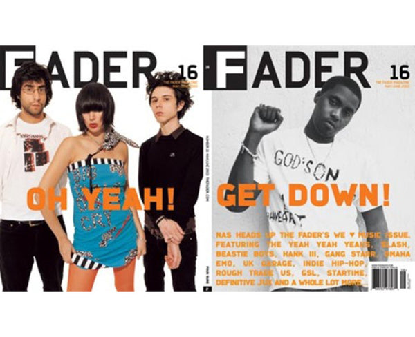 Issue 016: Nas / Yeah Yeah Yeahs - The FADER