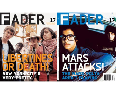 Issue 017: The Mars Volta / The Libertines - The FADER
