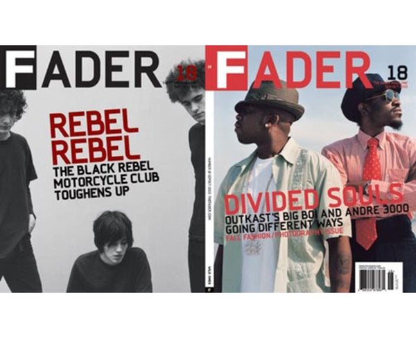 Issue 018: Outkast / Black Rebel Motorcycle Club - The FADER