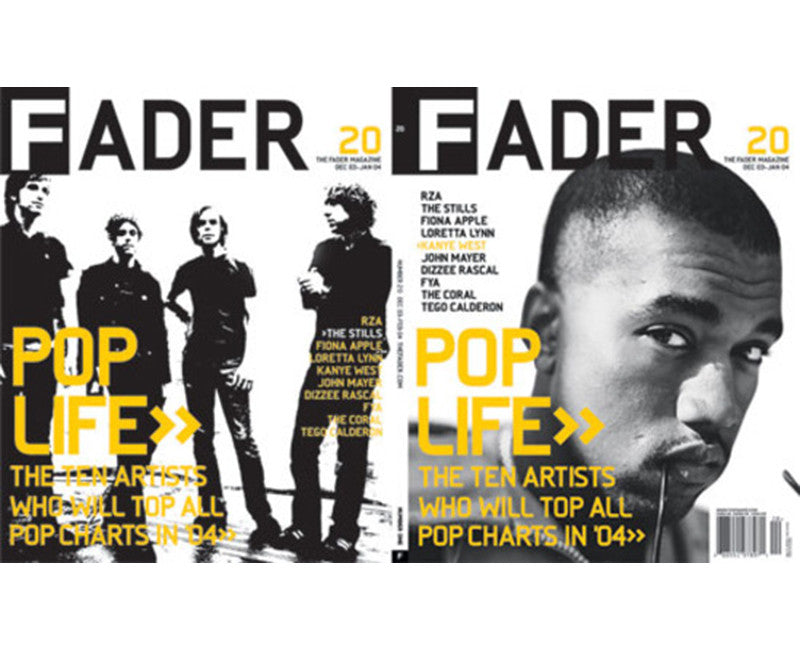 Issue 020: Kanye West / The Stills - The FADER
