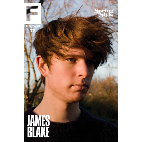 "James Blake / The FADER Issue 72 Cover 20"" x 30"" Poster - The FADER"