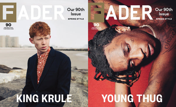 Issue 090: King Krule / Young Thug - The FADER