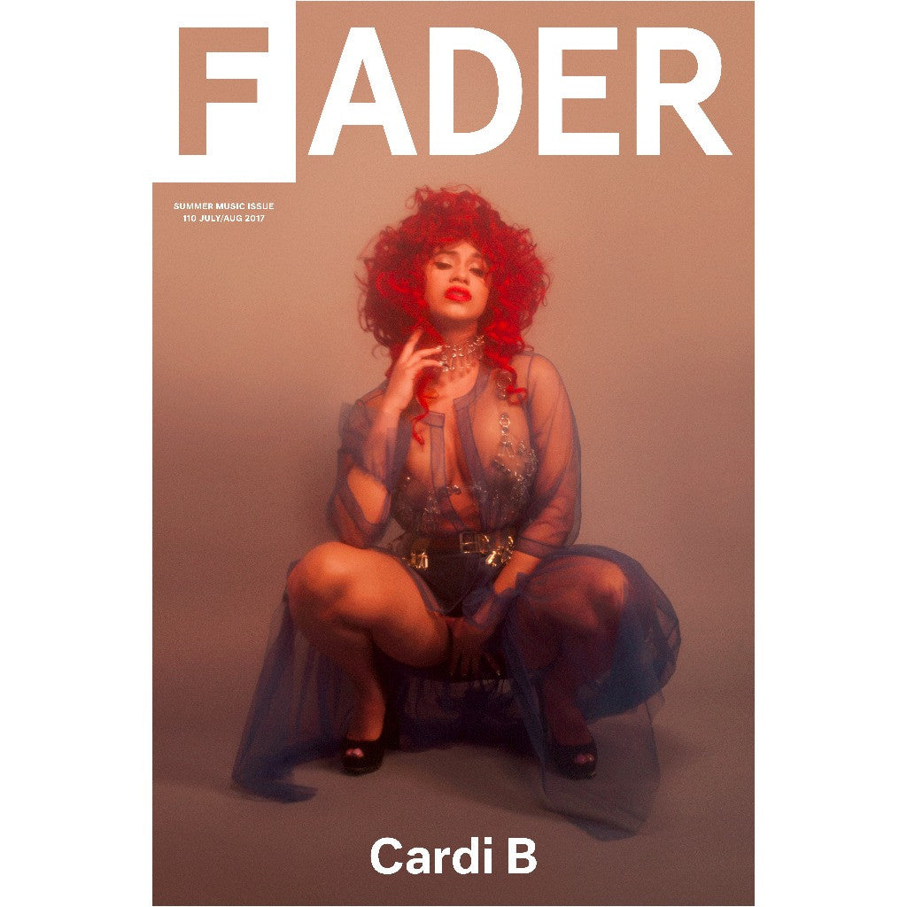 "Cardi B / The FADER Issue 110 Cover 20"" x 30"" Poster"