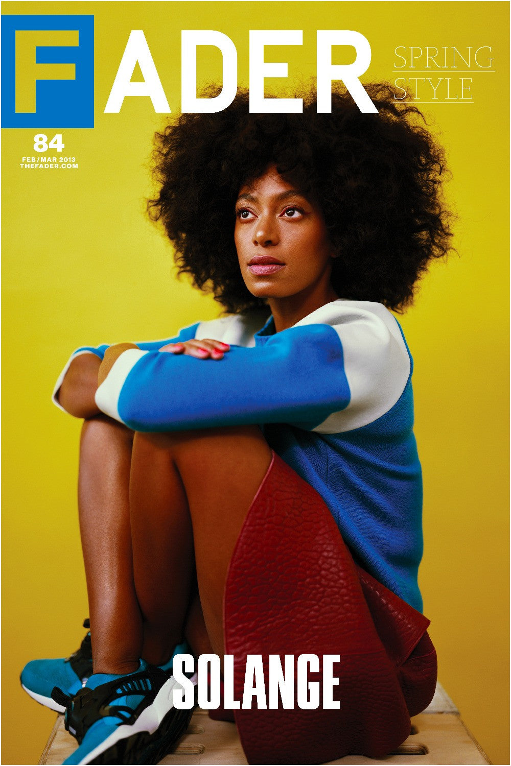 "Solange / The FADER Issue 84 Cover 20"" x 30"" Poster - The FADER"