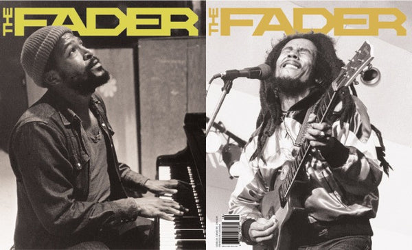Issue 010: Bob Marley / Marvin Gaye - The FADER