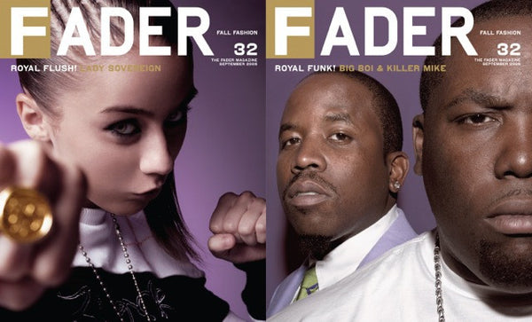 Issue 032: Big Boi / Killer Mike / Bubba Sparxxx / Lady Sovereign - The FADER