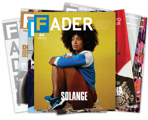 Canada Subscription - The FADER