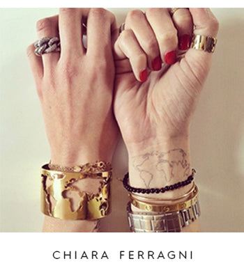 Chiara Ferragni World Cuff