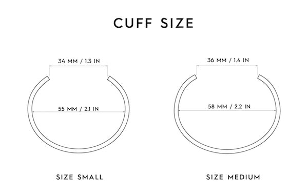 Size Chart World Cuff