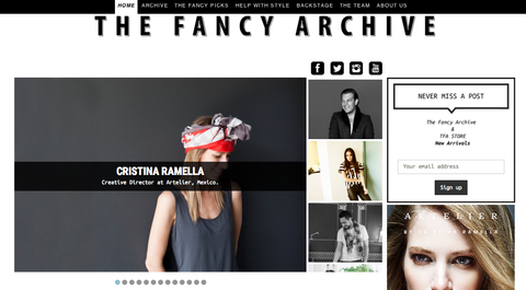 Cristina Ramella Interview for The Fancy Archive