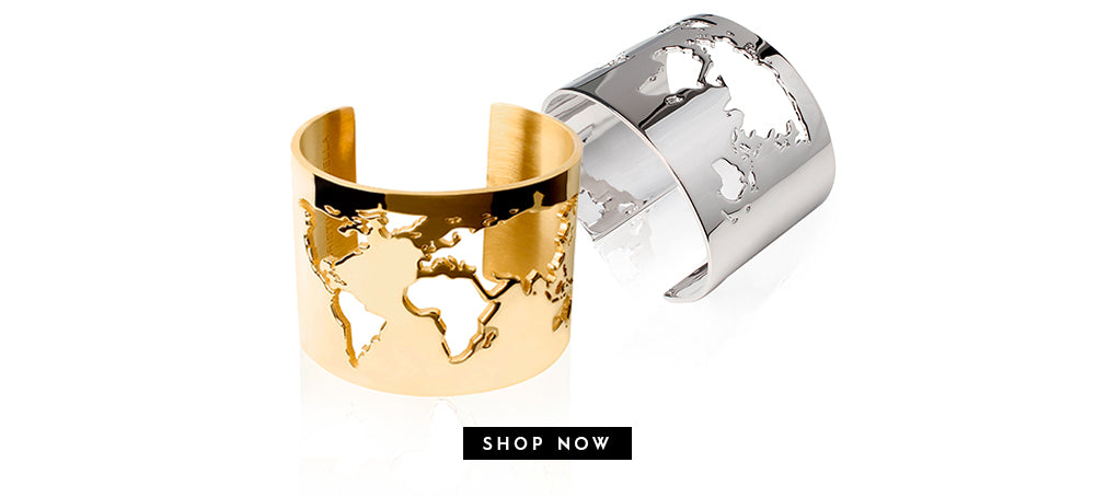 World Cuff by Cristina Ramella