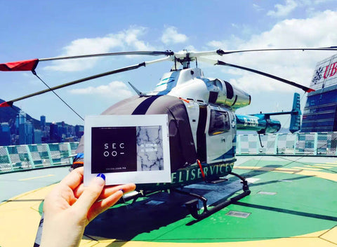 Helicopter Secoo Boutique Hong Kong
