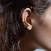 Triple Orbit Ear cuff x2