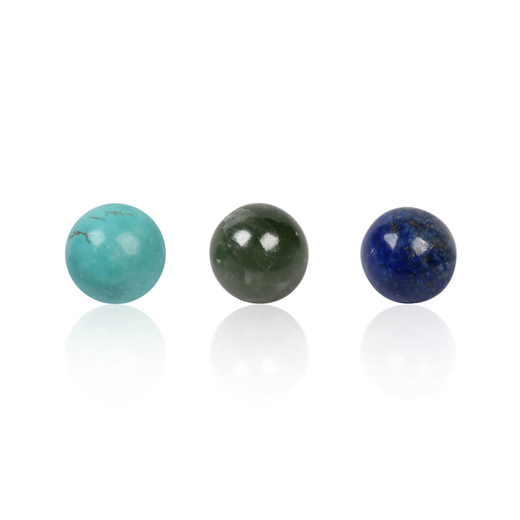 3 Gemstones Set by Cristina Ramella