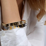 Bricks Bracelet by Cristina Ramella