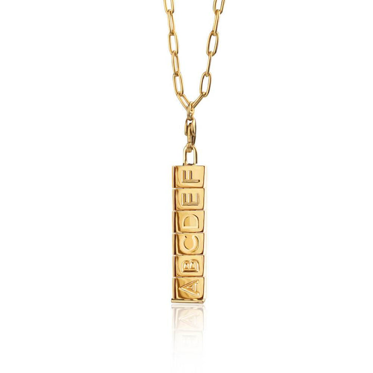 Bricks Necklace by Cristina Ramella