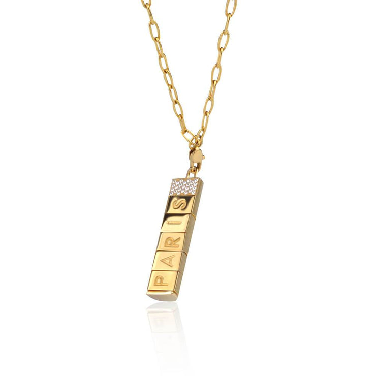 Paris Bricks Necklace by Cristina Ramella