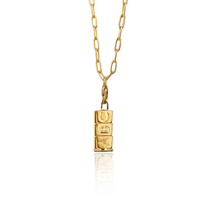 Small Bricks Necklace by Cristina Ramella