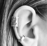 World Long Earcuff Pave