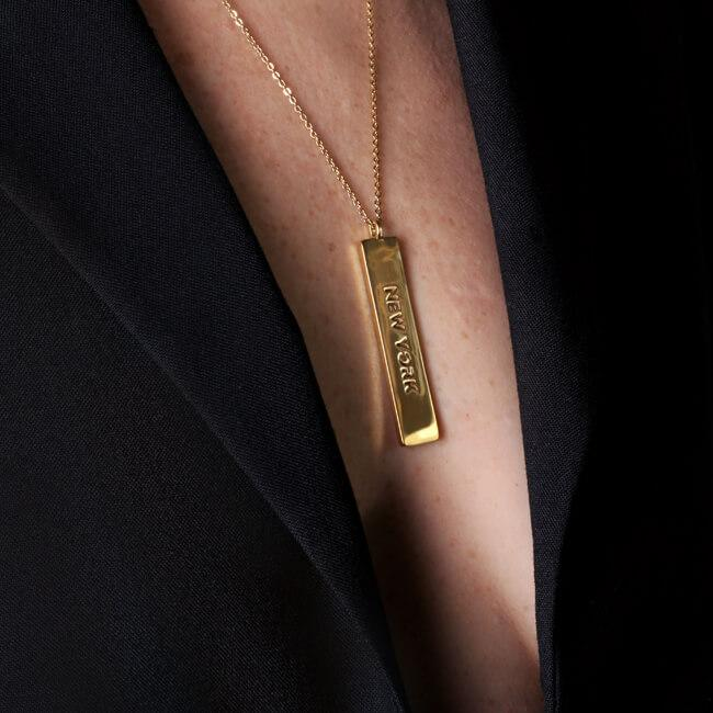 New York Necklace by Cristina Ramella