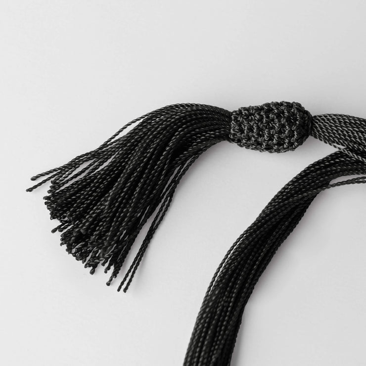 Detail Gracias Mexico Black Necklace by Cristina Ramella