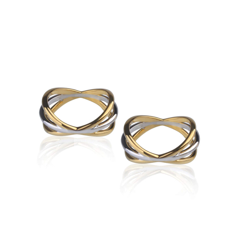 Double Parallel Ring by Cristina Ramella