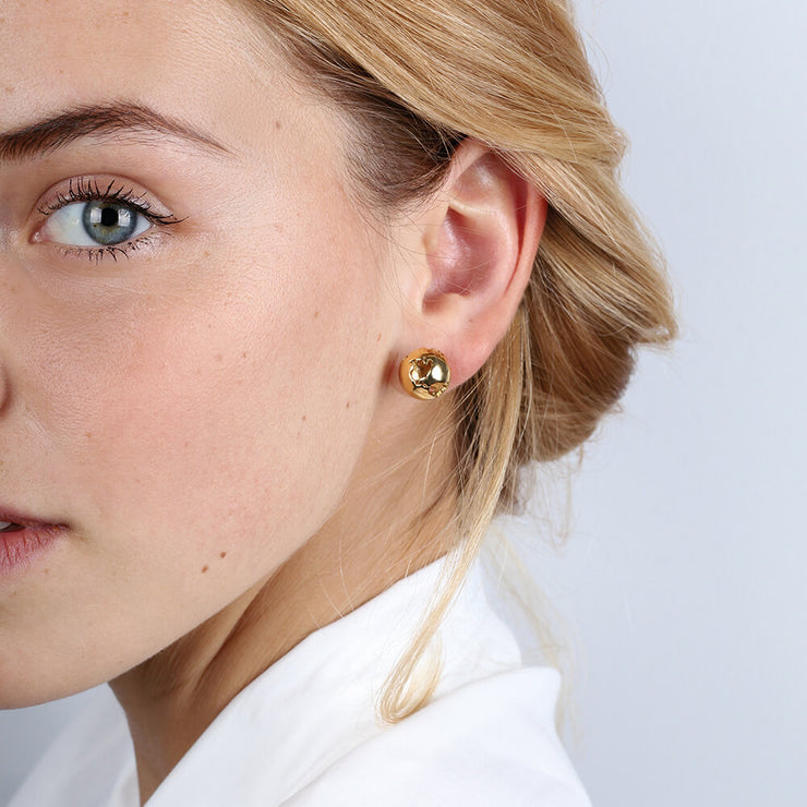 Earth Earrings by Cristina Ramella