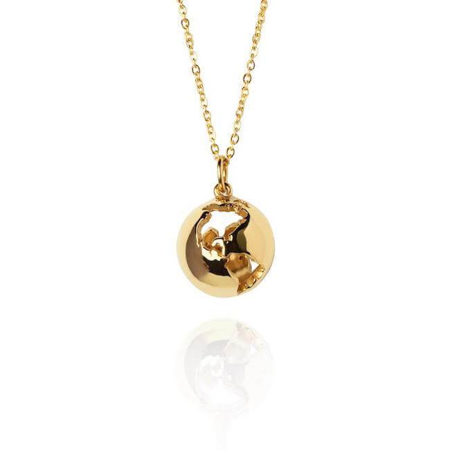Globe Necklace by Cristina Ramella