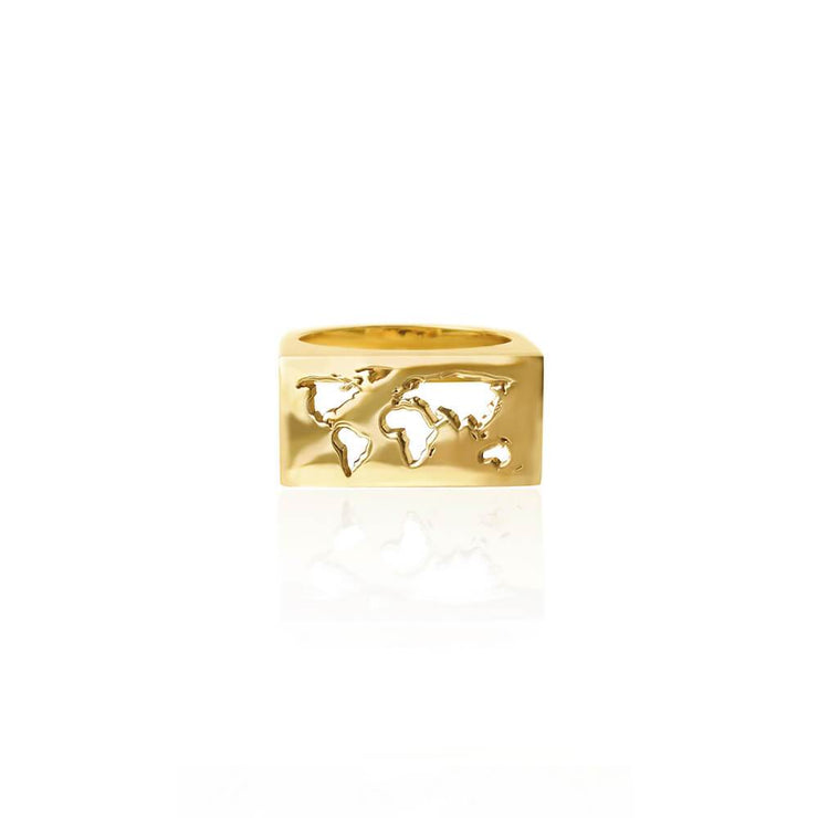 Map Ring by Cristina Ramella