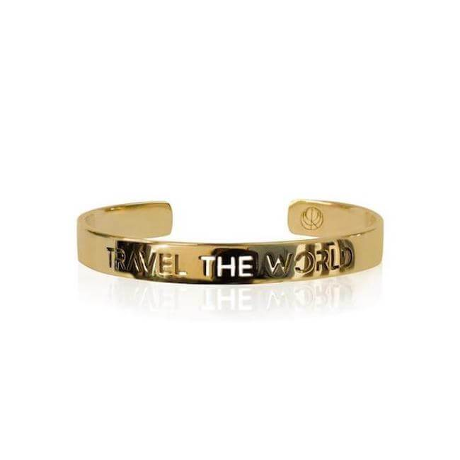 Travel the World Bracelet by Cristina Ramella