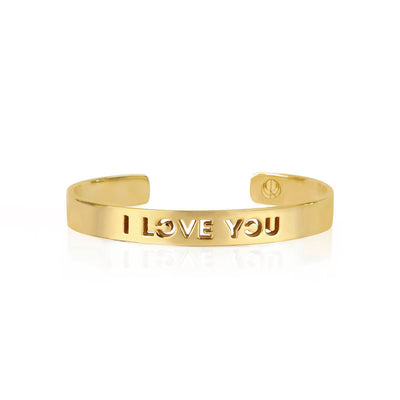 Gold I LOVE YOU Bracelet