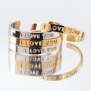 I love you Bracelets by Cristina Ramella